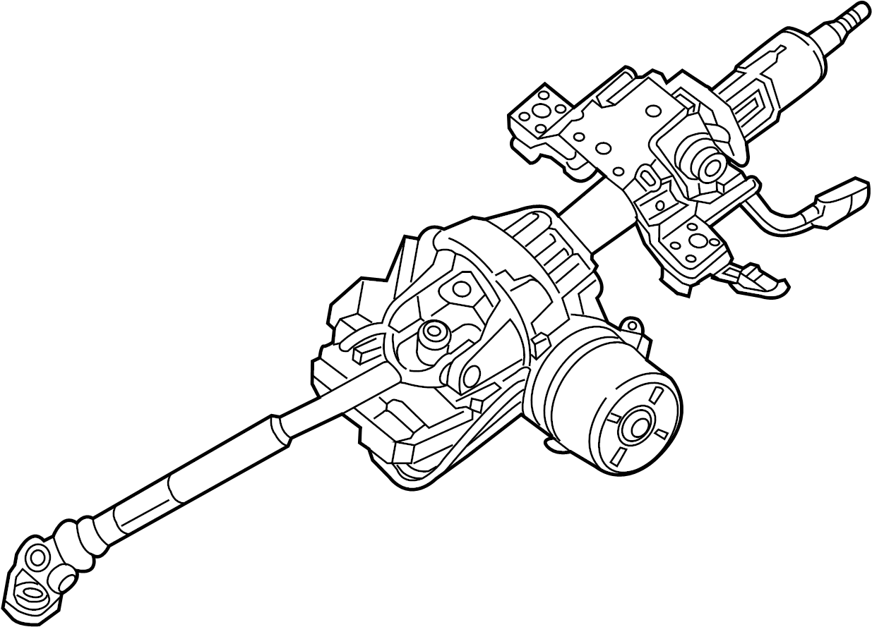 Pontiac Firebird Steering Column