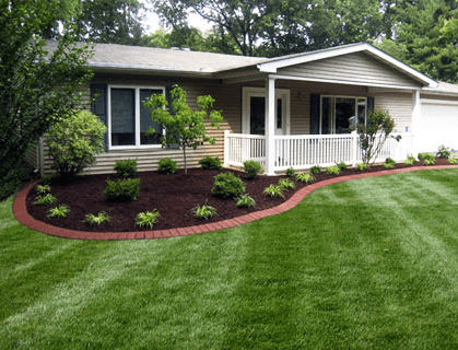 quick landscaping and gardening
