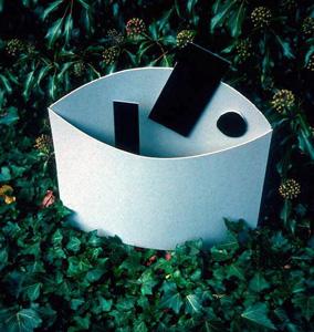 5.31 'Model (for sculpture)' 1986. card