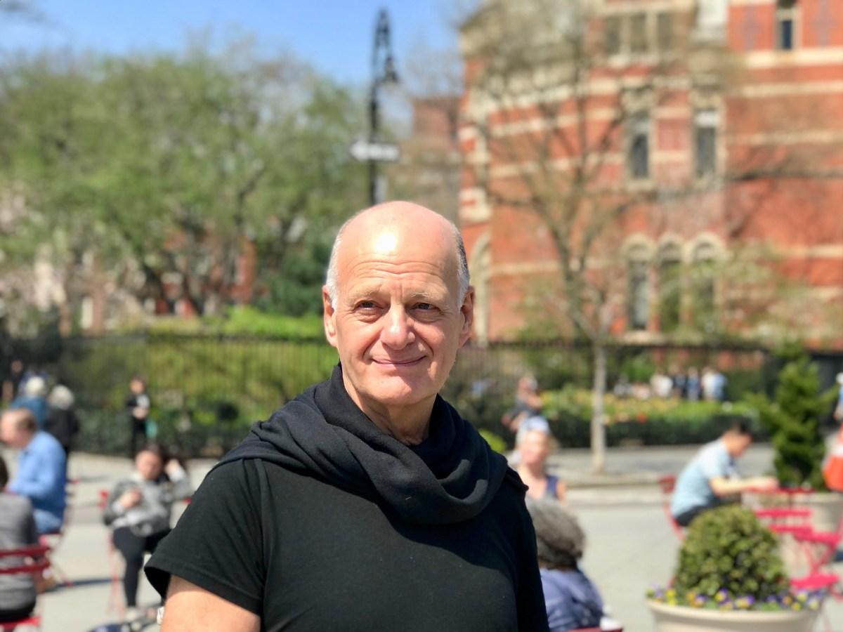 Jack Eppler in Greenwich Village, NYC