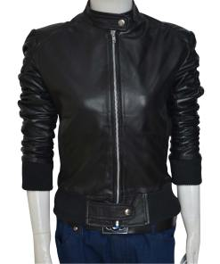 Gabrielle Joubert Jacket | Leem Lubany Condor Leather Jacket