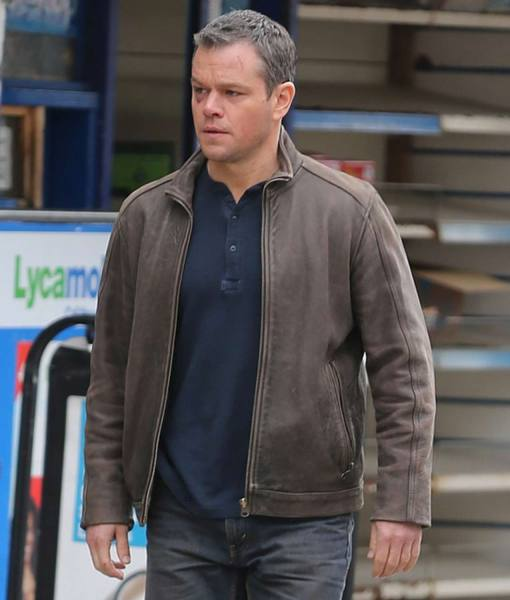 matt-damon-brown-leather-jacket