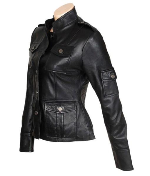 anne-hathaway-get-smart-leather-jacket
