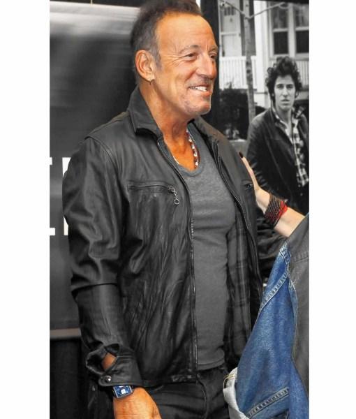 barnes-noble-bruce-springsteen-leather-jacket