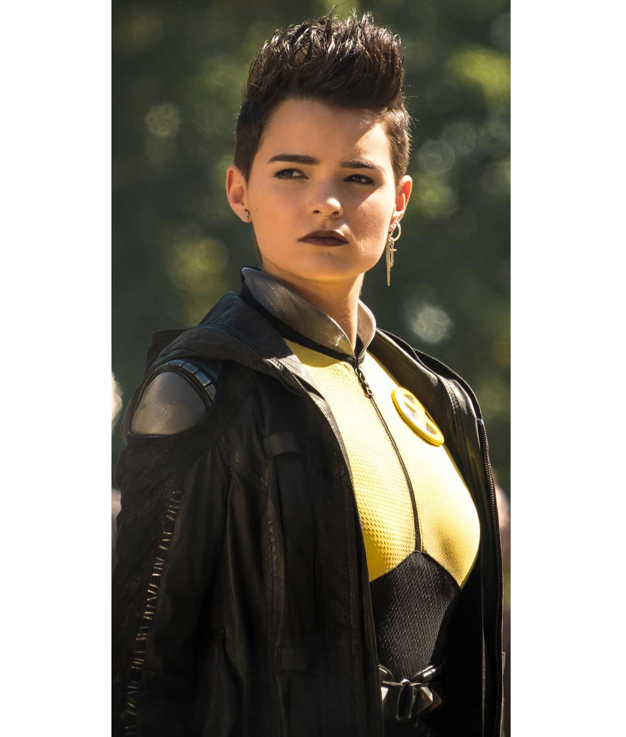 Brianna Hildebrand Deadpool 2 Negasonic Teenage Warhead Jacket