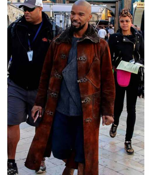 jamie-foxx-robin-hood-little-john-trench-coat