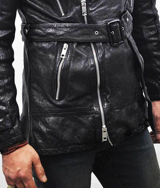 mens-belted-mid-length-leather-coat