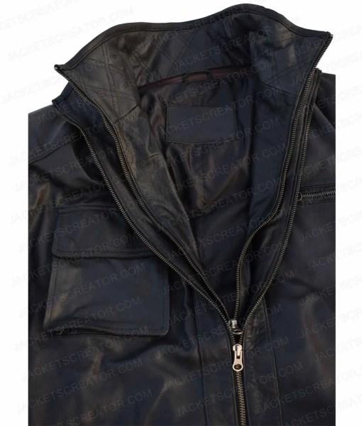 reggie-green-dear-white-people-black-leather-jacket