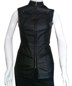 fcde958c7 Rutina Wesley Arrow Liza Warner Leather Jacket - Jackets Creator