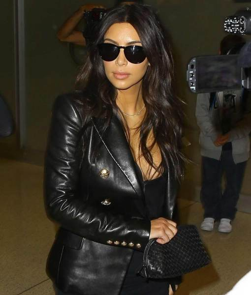 kim-kardashian-double-breasted-leather-jacket