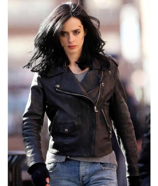 krysten-ritter-leather-jacket