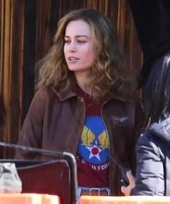 carol-danvers-brown-leather-jacket
