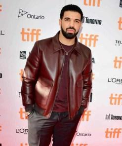 film-festival-drake-leather-jacket