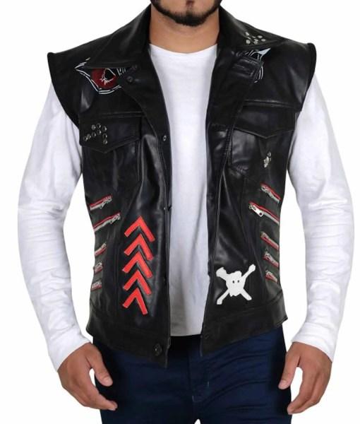 wwe-baron-corbin-leather-vest
