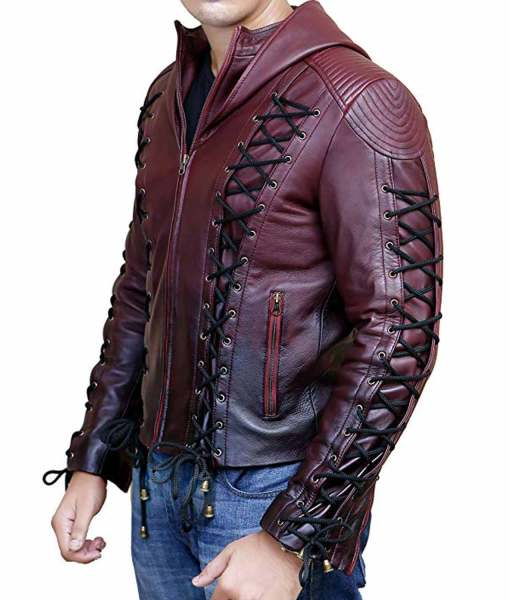 red-arrow-leather-jacket