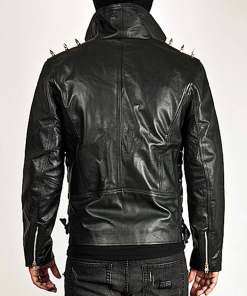 spiked-black-leather-jacket