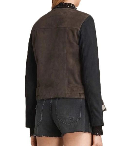 katie-cassidy-arrow-laurel-lance-biker-jacket