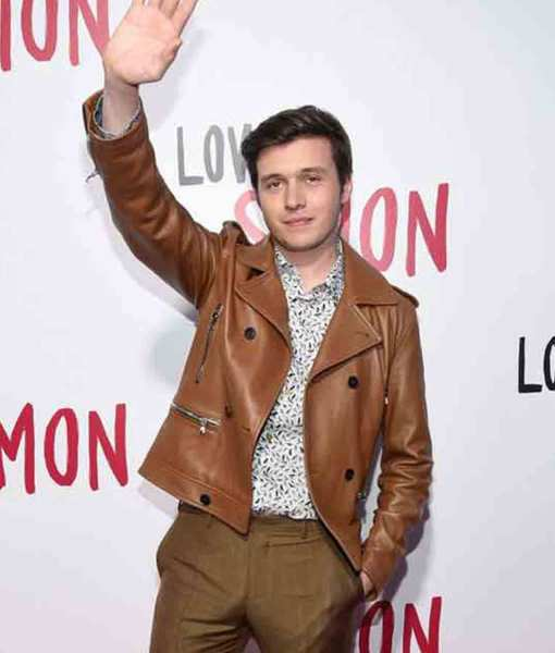 nick-robinson-love-simon-spier-leather-jacket