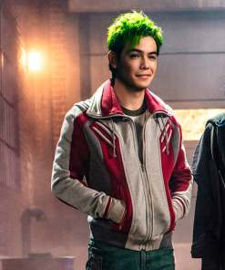 ryan-potter-titans-jacket