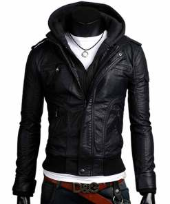 black-leather-jacket-with-hoodie