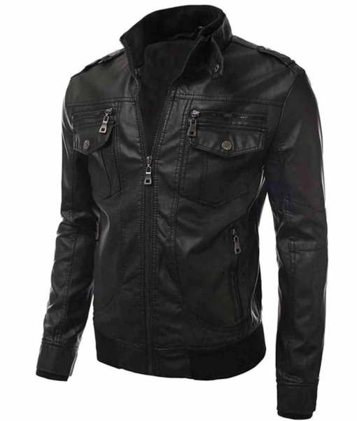 black-leather-slim-fit-jacket