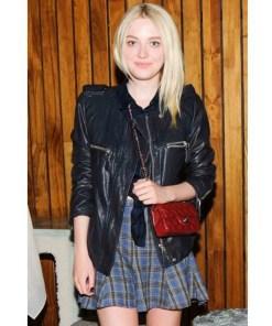 dakota-fanning-leather-jacket