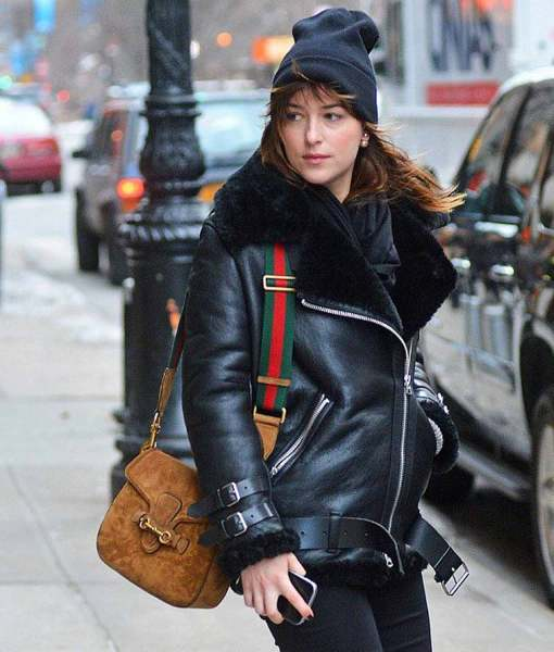 dakota-johnson-shearling-coat