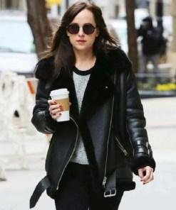 dakota-johnson-shearling-leather-jacket