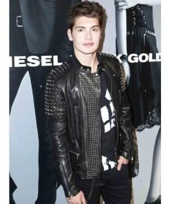 gregg-sulkin-leather-jacket