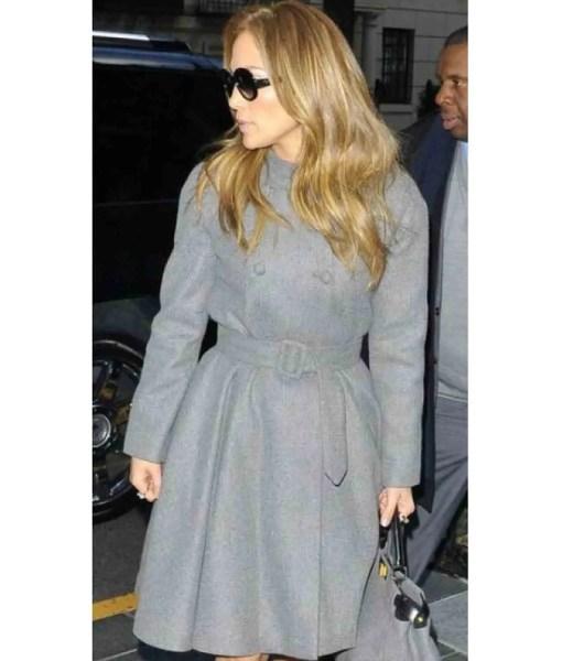 jennifer-lopez-double-breasted-wool-grey-coat