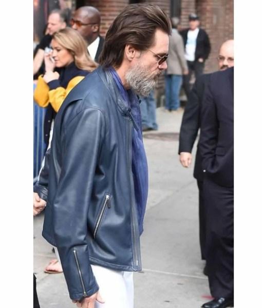 jim-carrey-street-wear-blue-jacket