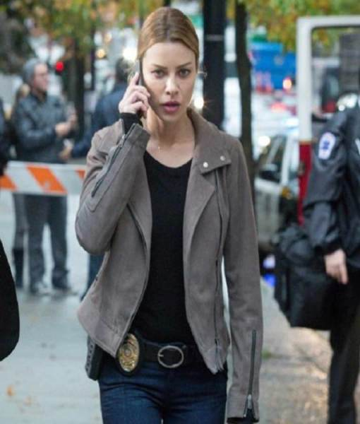lauren-german-lucifer-chloe-decker-grey-leather-jacket