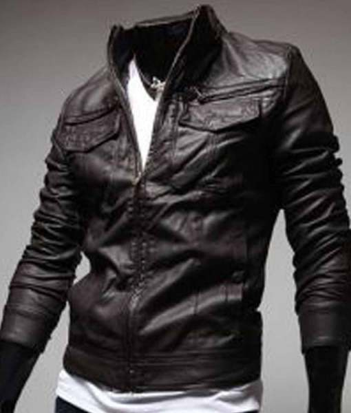 mens-brown-slim-fit-leather-jacket