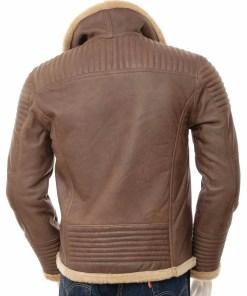 mens-sheepskin-shearling-brown-leather-jacket