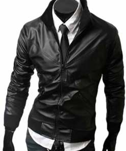 mens-slim-fit-bomber-leather-jacket