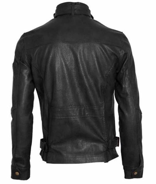 mens-snap-tab-collar-black-faux-leather-jacket