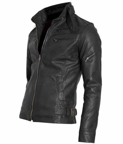 mens-snap-tab-collar-black-faux-leather-moto-jacket