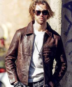 mens-vintage-brown-leather-jacket