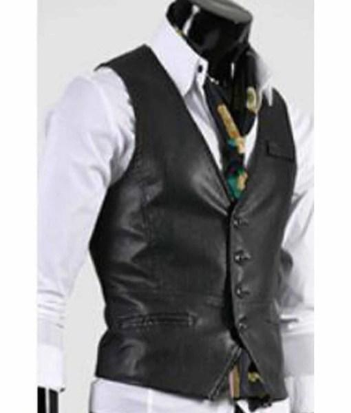 slim-fit-leather-vest