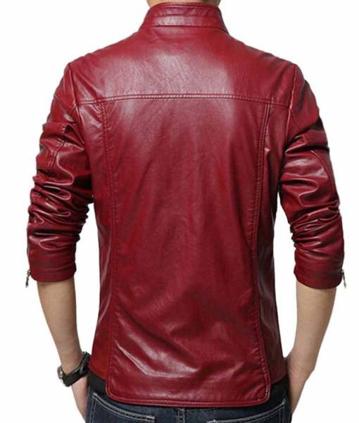 slim-fit-red-leather-jacket