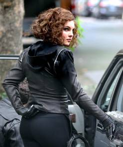 gotham-season-5-selina-kyle-leather-jacket-with-hoodie