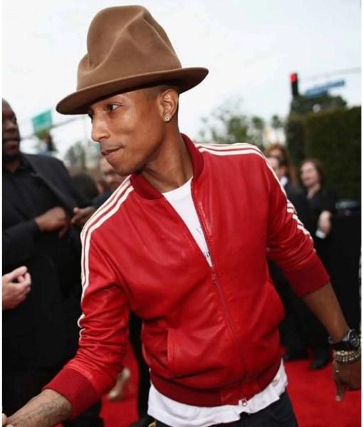 pharrell-williams-red-jacket