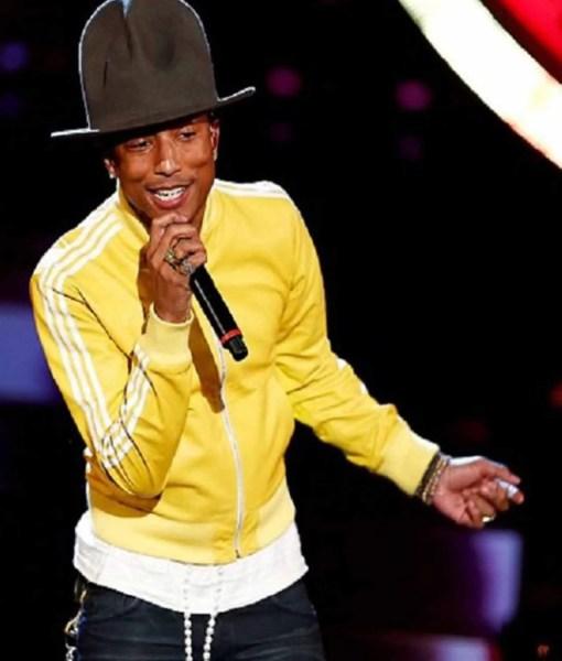 pharrell-williams-yellow-bomber-jacket