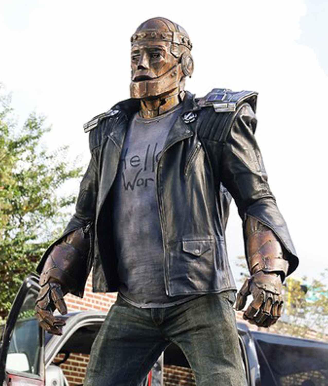 Robotman Jacket Cliff Steele Doom Patrol Leather Jacket
