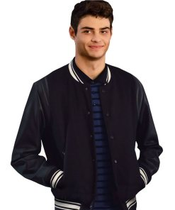 noah-centineo-the-perfect-date-varsity-jacket