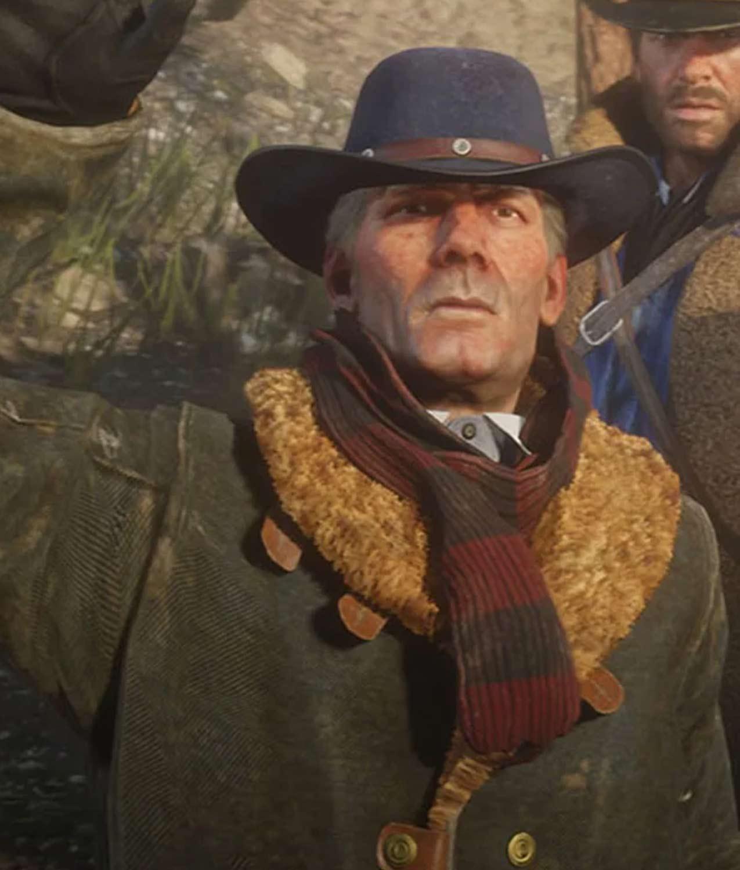 Red Dead Redemption 2 Hosea Matthews Coat - Jackets Creator
