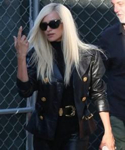 donatella-versace-leather-jacket