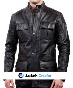 mens-racing-black-leather-jacket