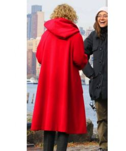 julia-garner-modern-love-coat