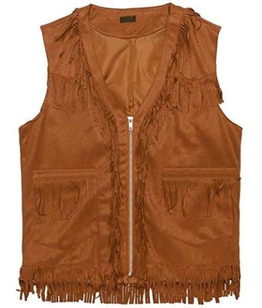 mens-brown-fringe-vest